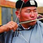 Archer at Naadam