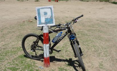 Fahrrad-Parkplatz