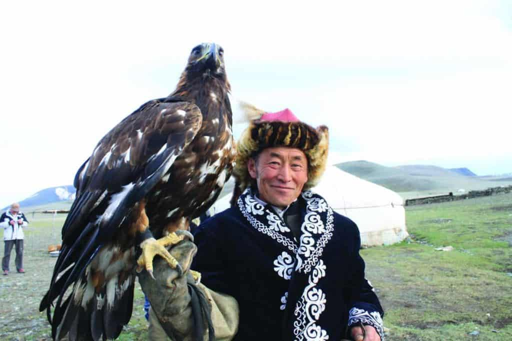 Nomad with Eagle