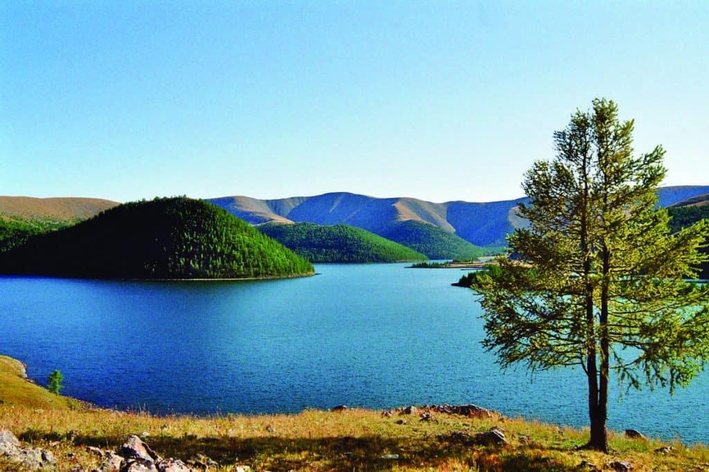 Lakes at Naiman Nuur