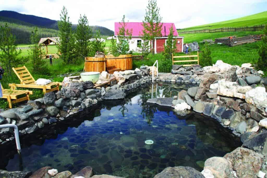 Hot Springs near Tsenkher